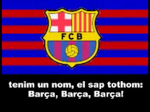 barcelona song with lyrics