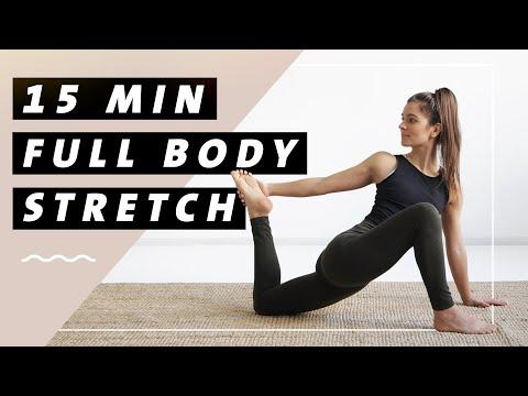 Yoga Ganzkörper Stretching Routine | Den ganzen Körper dehnen | Flexibilität  & Entspannung