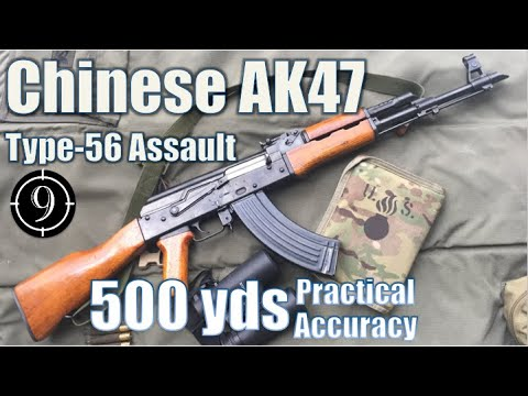 Chinese AK47 to 500yds: Practical Accuracy (Type 56 Assault Rifle)