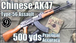 Chinese AK47 To 500yds Practical Accuracy Type 56 Assault Rifle