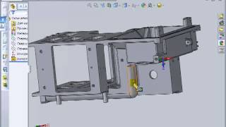 SolidWorks Tutorial. отливка