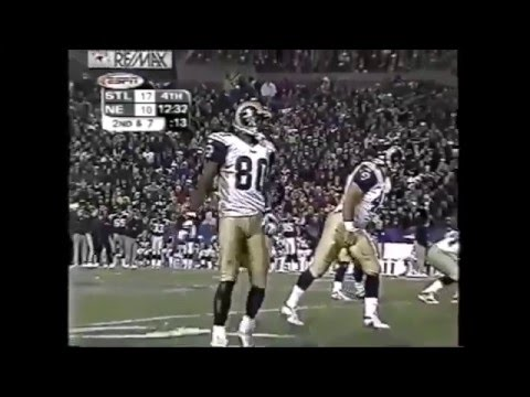 Isaac Bruce and Torry Holt AT Patriots 2001