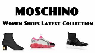 MOSCHINO Women Shoes Latest Collection 2019