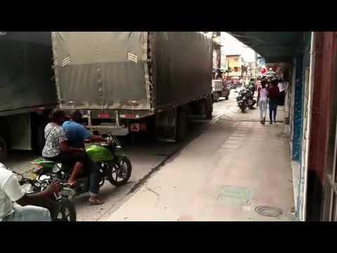 Ulice Quibdó, región El Chocó, Kolumbia