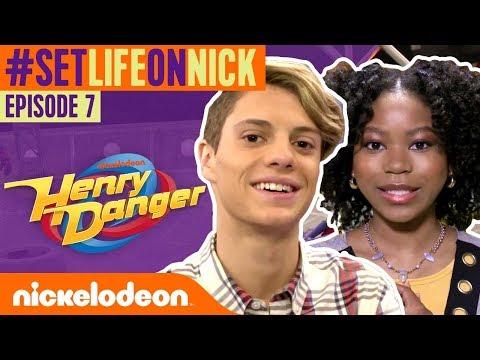 PROPS & MOTION CAPTURE on the Henry Danger Set! | BTS Ep. 7 | #SetLifeOnNick