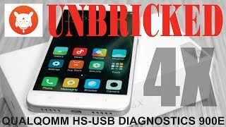 UNBRICK REDMI 4X USB DIAGNOSTIC 900E