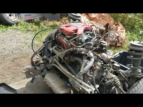 1985 Pontiac Fiero GT Getting Ready For Engine & Transmission Swap