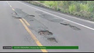 Situação de rodovia entre Anchieta e Romelandia é destaque em Plenário