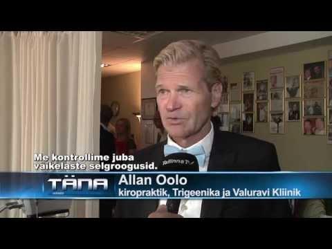 Kiropraktika Eestis Dr. Allan Oolo Valuravi Kliiniku Avamine. (Mart Poom, Jürgen Veber)