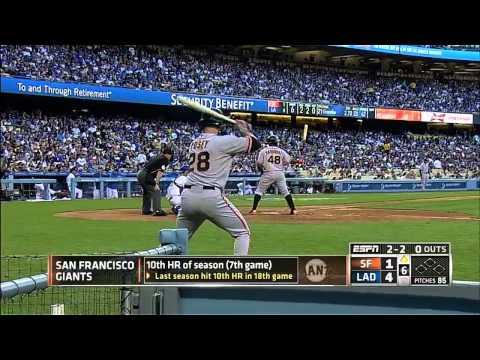 Giants vs. Dodgers 06.04.2014 [Full Game HD]