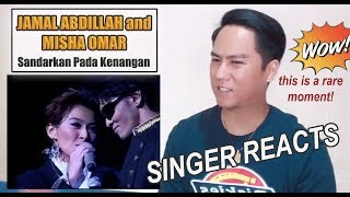 Download lagu Jamal Abdillah and Misha Omar duet SINGER REACTS MP3