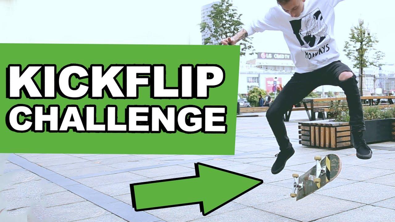 Kickflip challenge! – NIEMOŻLIWE WYZWANIE!