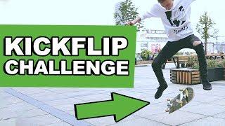 Kickflip challenge! - NIEMOŻLIWE WYZWANIE!