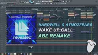 hardwell   wake up call original mix fl studio remake flp