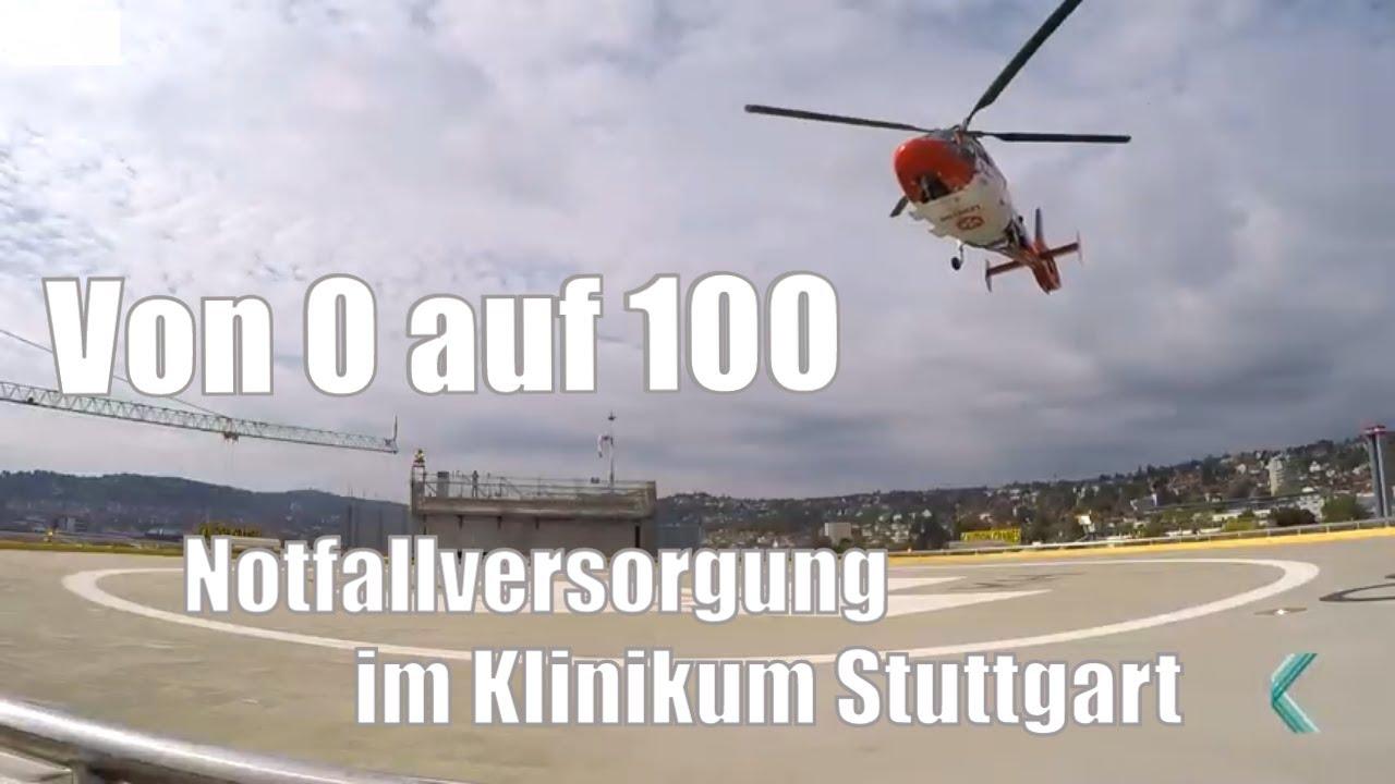 """""""Von 0 auf 100 alles geben"""" - Notfallversorgung im Klinikum Stuttgart"""