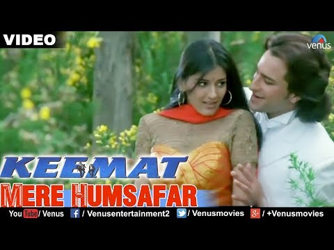 Mere Humsafar Full Video Song : Keemat | Akshay Kumar, Raveena Tandon, Saif Ali Khan |