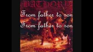 Bathory - Father To Son