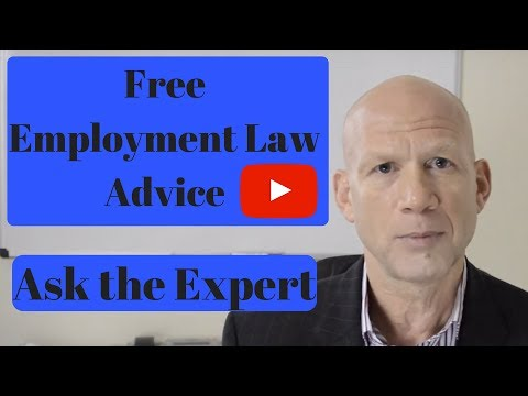 Free employment law advice. Ask the Expert