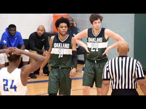 OAKLAND COMMUNITY COLLEGE KEVIN FLETCHER VS WCCC GAME HIGHLIGHT