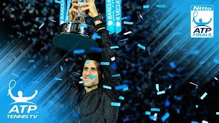 Djokovic vs Federer: ATP Finals 2012 Final Highlights