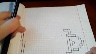 Рисунки по клеткам урок 2