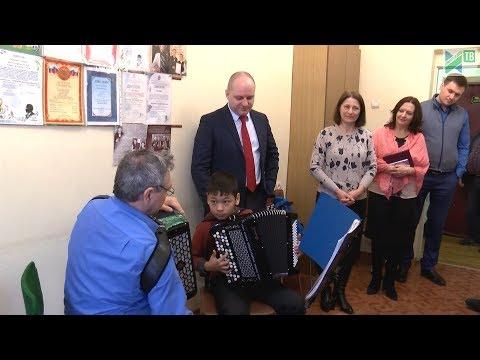 Глава Ивантеевки посетил Музыкальную школу и МФЦ