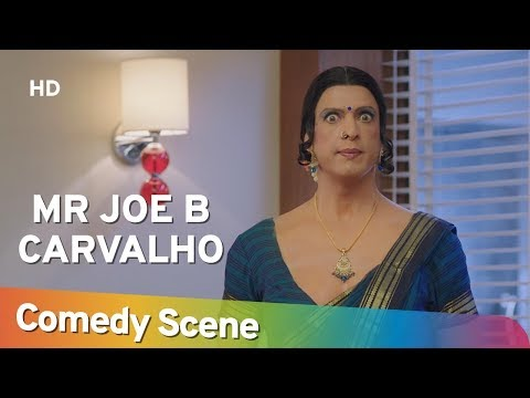 Mr Joe B. Carvalho - Javed Jaffrey - Hit Comedy Scene - Shemaroo Comedy