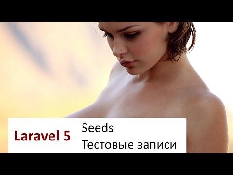 #6 Laravel 5: Seeds - тестовые записи в БД
