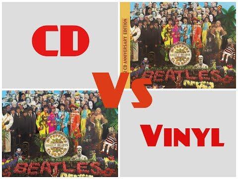 CD Vs Vinyl Sgt Pepper (2017 Remix)