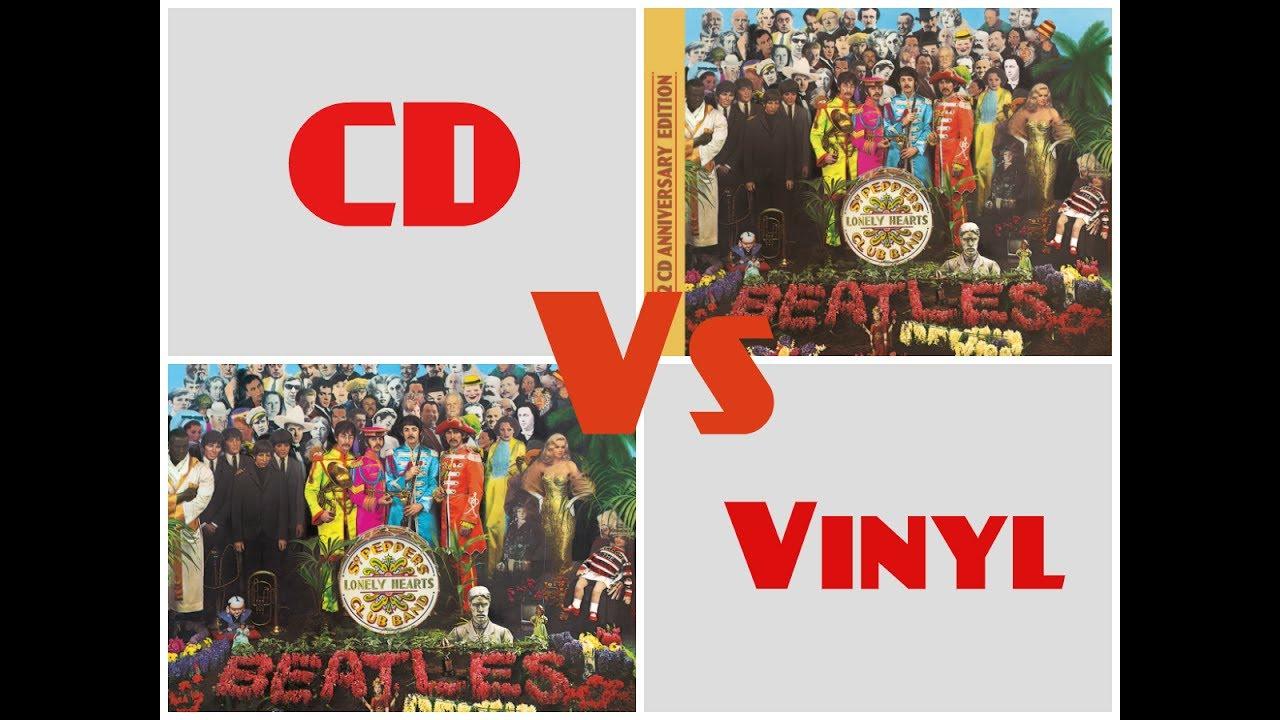 cd vs vinyl sgt pepper 2017 remix youtube. Black Bedroom Furniture Sets. Home Design Ideas