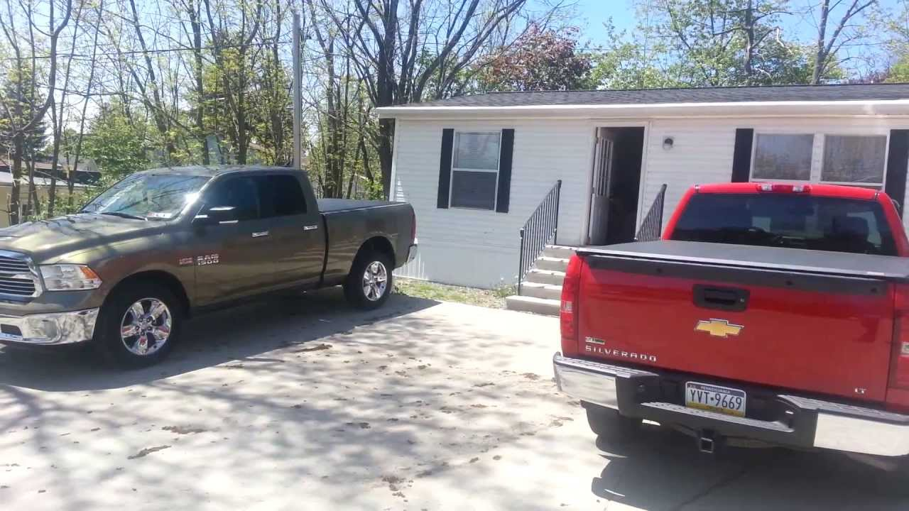 Roll Up Vs Tri Fold Tonneau Cover Comparison Youtube