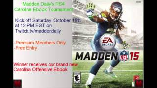 Madden 15 PS4 Tournament | Saturday October 18th | 16 Man Free Entry
