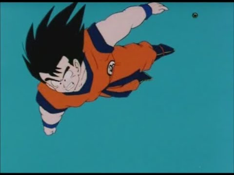 Goku's epic arrival on earth (JAP)