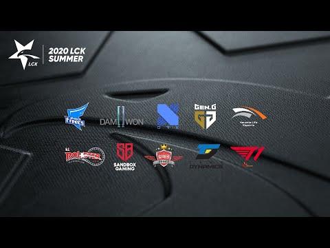 Stream: LCK Global - DWG vs. GEN - SP vs. T1 [2020 LCK Summer Split]