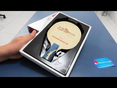 c19ea3502 Raquete de Tênis de Mesa Hurricane Wang Hao CS Classineta da DHS Table  Tennis