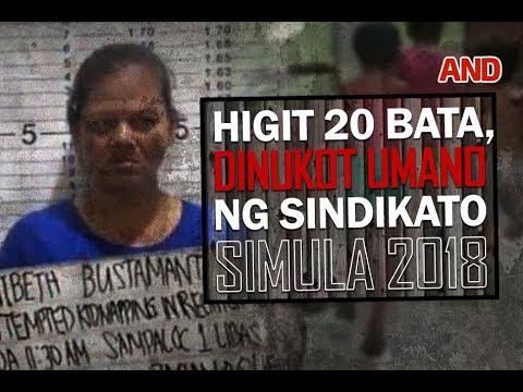 Miyembro ng sindikato, umamin na mahigit 20 bata na ang dinukot nila