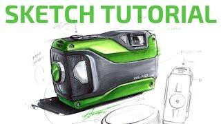 #2 SKETCH TUTORIAL by Adonis Alcici - Product Design