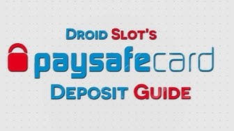 Guide To Paysafecard Depositing At Mobile Casinos