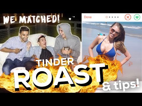 ROASTING (helping) A 21 YEAR OLD YOUTUBER'S TINDER SKILLS!