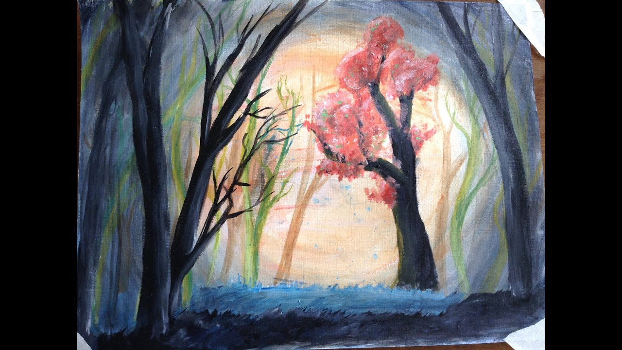 A painting impression of depression: A walk through the ...