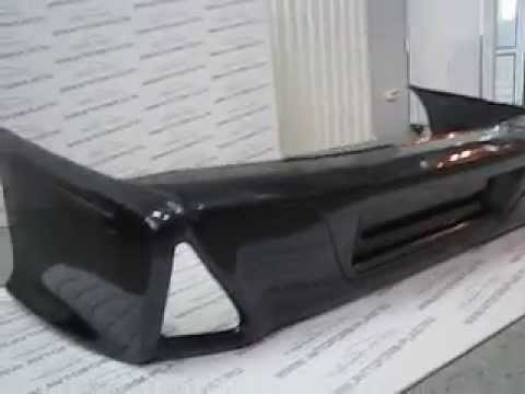 Задние фонари на ВАЗ 2115 в виде модулей (цвет серебристый) - YouTube