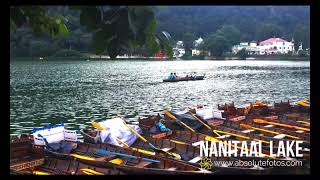 Nainital Time Lapse (4K 60fps) | 5.1 Channel Sound | Lake | Hill Station | Colorful boats