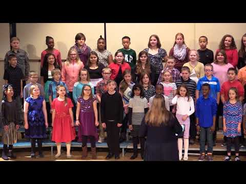 Charles City Middle School 2017 Holiday 5th & 6th Grade Vocal Concert