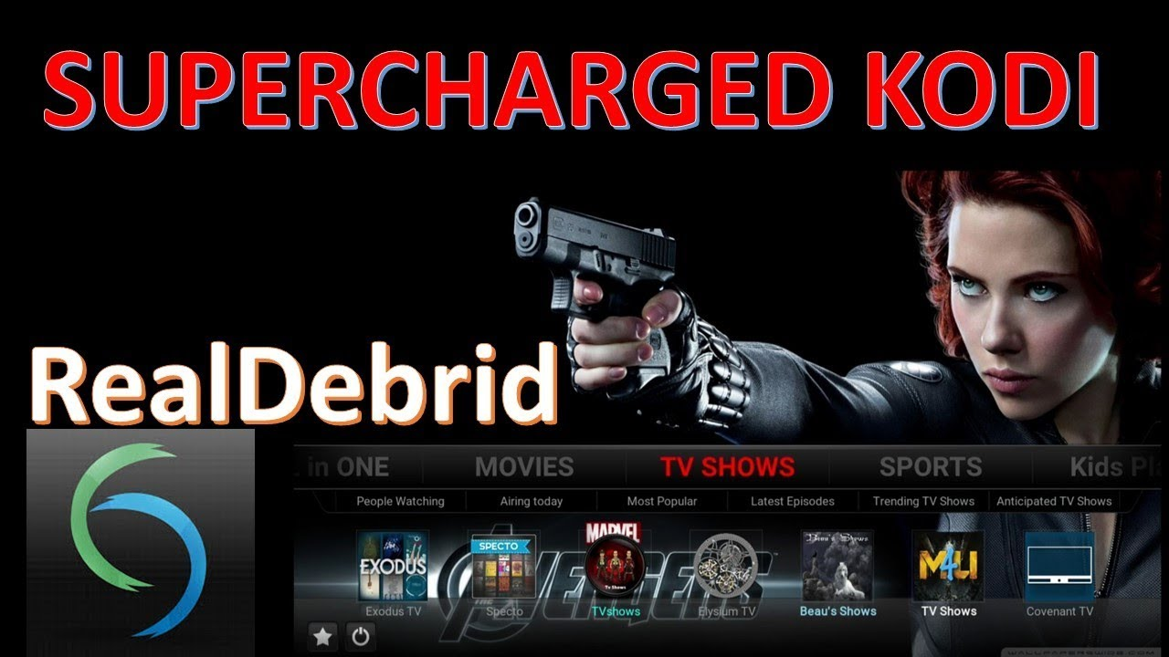 SuperCharge KODI with Real Debrid - HD links Everywhere!