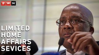 Home Affairs Minister Aaron Motsoaledi said on 12 January 2021 during a media briefing that some services by the Department of Home Affairs  will be suspended during the adjusted level 3 lockdown.  #COVID19news #homeaffairs #coronavirusSA