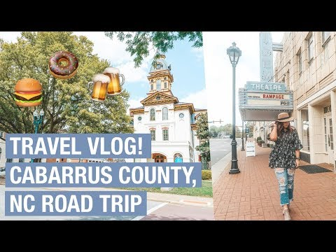TRAVEL VLOG: Cabarrus County, NC Weekend Road Trip
