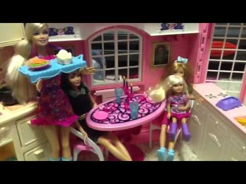 CAMPER ! Built-In POOL PLAY- Picnic Hammock- Barbie Chelsea Stacie .