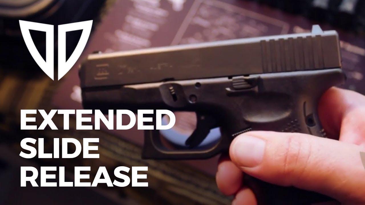 Glock Extended Slide Release Install, It's Easy