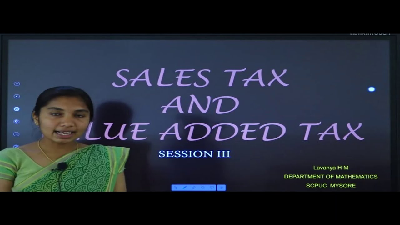 II PUC | Basic Maths | SAT and VAT - 03