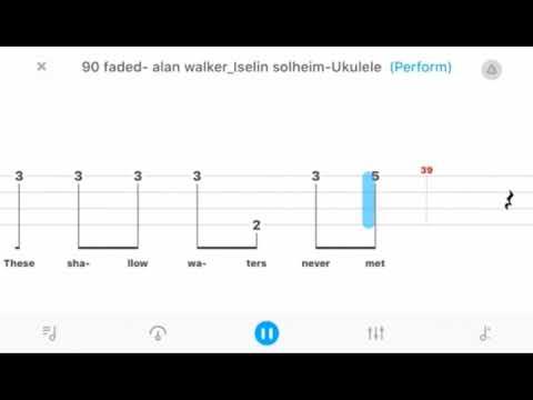 [Free TAB] Faded - Alan Walker | Fingerstyle Ukulele Tabs| Ukulele Solo For  Beginners